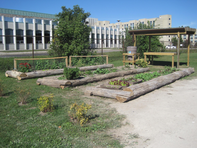 University Heights Public School Knowledge Garden Ribbon Cutting