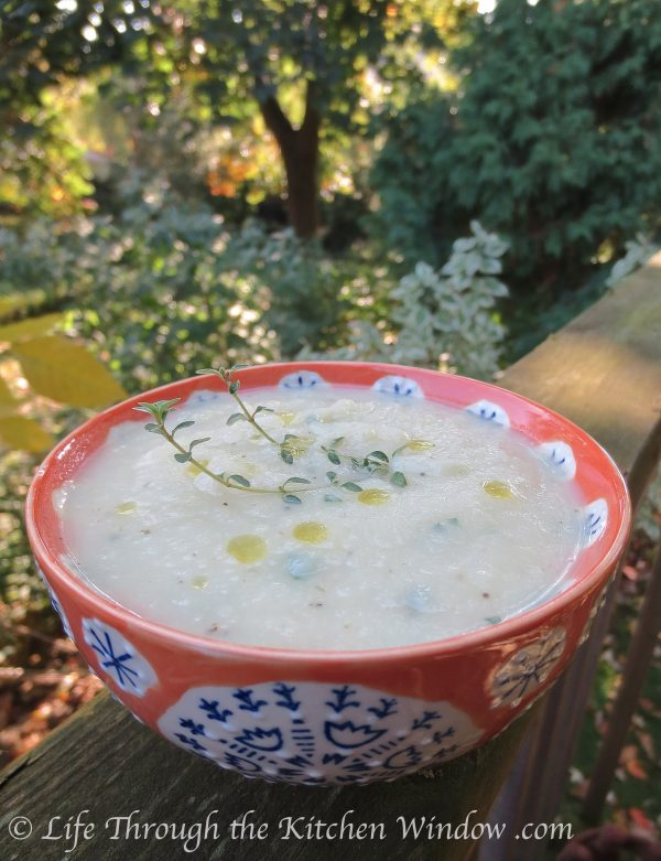 Celeriac Soup | LCRC Grow Cook Learn